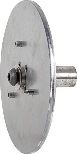 PFERD 83980 7'' Drive Arbor for 7-8'' Diameter Disc Brush, 1'' Shank