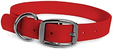 Wearhard Waterproof Dog Collar with Metal Buckle – No Stink, Non-Fade, Adjustable, Easy to Clean
