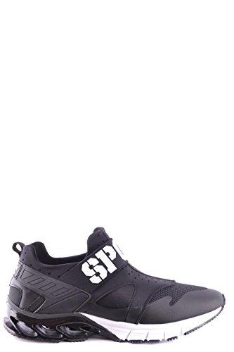 PLEIN SPORT Sneakers Uomo MSC0912STE003N02 Poliestere Nero