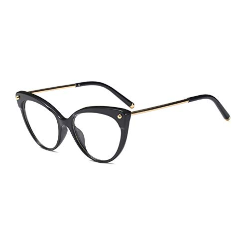 Clear Black Eye Transparent Frame Cat Frames Pink Retro clear ...