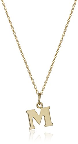 - 14k Yellow Gold-Filled Letter