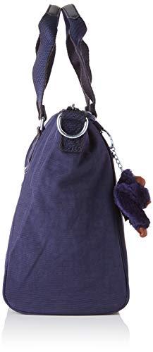 Para Superior Bolsa De Azul Mujer Asa Blue Kipling Amiel active pqwXP4xI