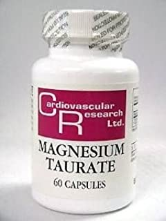 Ecological Formulas - Magnesium Taurate 125 mg 60 caps by Ecological Formulas
