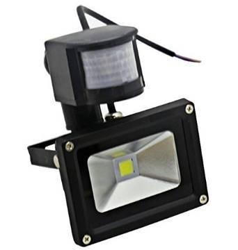 LIVHÒ | Foco LED 10 W, luz blanca con detector de movimiento para exterior,