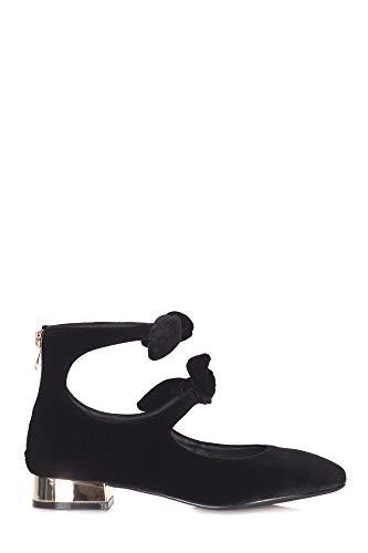 Suède Noir Vee 48272114214 Talons Chaussures Emanuelle Femme À P6IgnWg1U