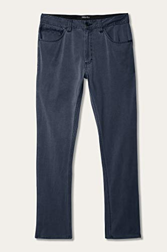 Slim Fit 5 Pocket Hybrid Pant (Dark Navy/Venture, 36)