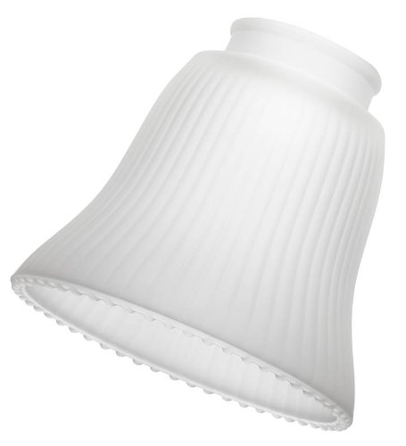 NuTone TF40GFW Turtle Fitter Glass Shades, Frosted White, 4-Pack