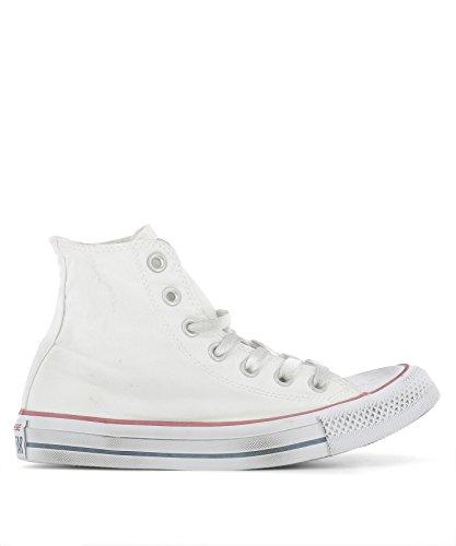 Converse Hi Top Sneakers Donna 156889C Tessuto Bianco