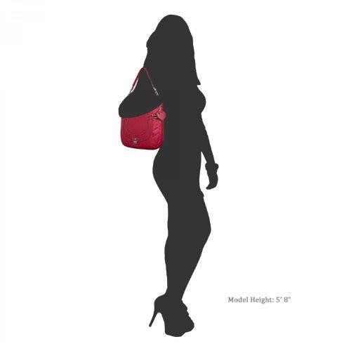 Guess - Bolso al hombro para mujer
