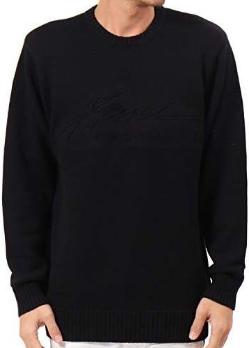 [カールカナイ] Karl Kani セーター ロゴ 立体 エンボス クルーニット191K1402