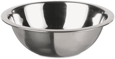 Adcraft Mixing Bowl, Stainless Steel, 1 qt, 7 5/8