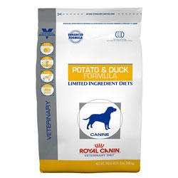 Royal Canin Veterinary Diet Canine Hypoallergenic Potato and Duck Dry Dog Food 7.7 lb bag, My Pet Supplies
