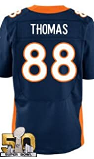 Amazon.com : Demaryius Thomas Denver Broncos NFL Orange Game ...