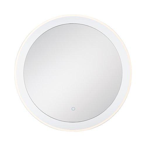 優れた品質 eurafase 33825 B07BDQ46HR – 014 eurafase LEDラウンドback-litミラー、30 33825、