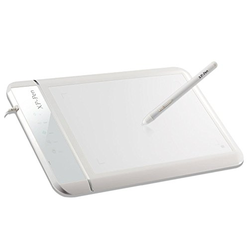 XP Pen Star 10 Digital Graphics Drawing Pen Tablet Battery free Passive Stylus Signature Boards Touch Express
