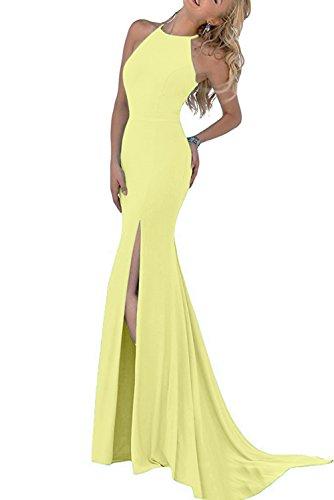 Vestido Topkleider amarillo Topkleider Mujer Vestido para 0SpOSvaq6