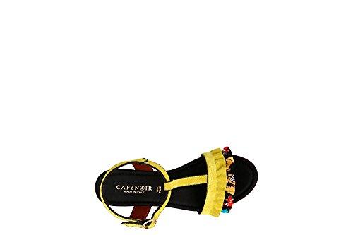 Cafè Noir KHC606 T Sandal with ROUCHES 085 Ghiaccio 3dEtvnay