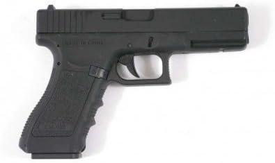 Cyma Pistola Eléctrica G18 para Airsoft,/Automático, Cm030 (0,5 Julios), Culata de Metal, Color Negro