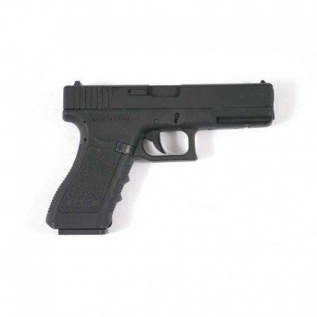 CYMA Airsoft G18 Pistolet Electrique Automatique Cm030 (0.5 Joule) Noir Culasse Métal 1