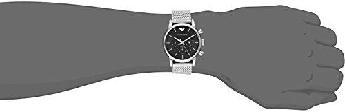 5d1990f7a0e Amazon.com  Emporio Armani Men s AR1811 Dress Silver Watch  Emporio Armani   Watches