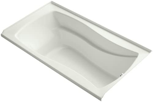 Kohler K-1229-R-NY Mariposa 5.5Ft Bath with Integral Tile Flange and Right-Hand Drain, Dune