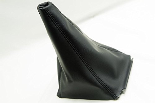 Fits 2003-2006 Jeep Wrangler TJ Synthetic Black Leather Shift Boot . (Vinyl Part Only)