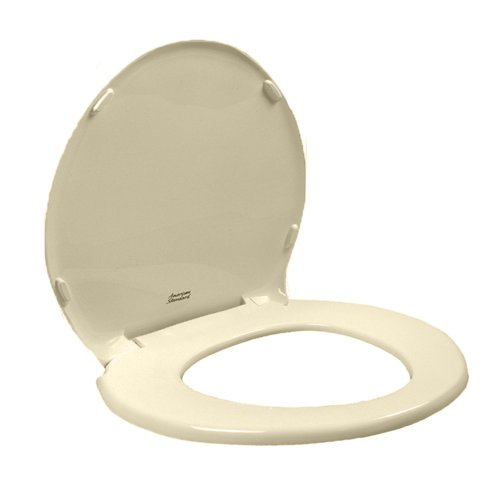 American Standard 5330.010.021 Champion Slow Close Round Front Toilet Seat with Cover, Bone