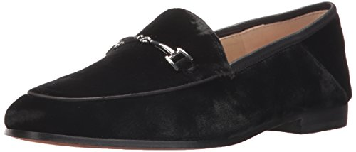 Sam Edelman Women's Loraine Loafer, Black Velvet, 8.5 Medium US