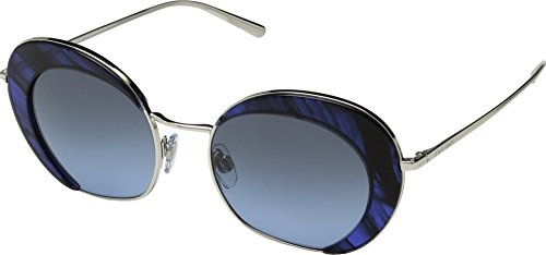 Giorgio Armani Womens Sunglasses Silver/Blue Metal - Non-Polarized - - Sunglasses Giorgio Armani