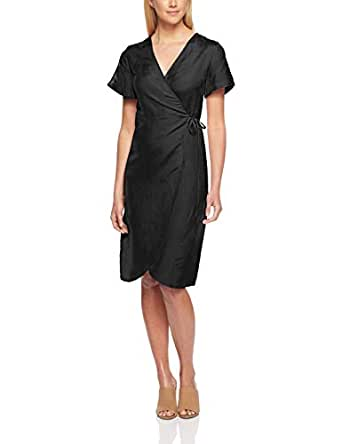 All About Eve Women's Avery Wrap Dress, Black, 10
