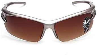 نظارات شمسية كلاسيكية للرجال من الأشعة فوق البنفسجية في الهواء الطلق نظارات بنية