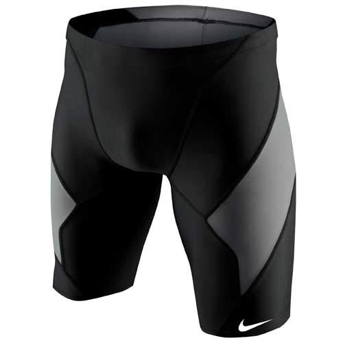 Nike Men's Victory Color Block Swim Jammer 38 Black