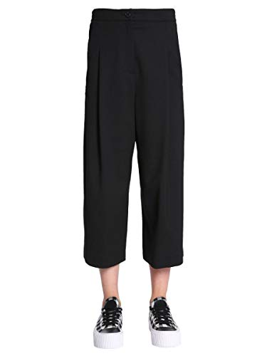 Negro Mcqueen Mujer 513614rla061000 Mcq By Poliéster Pantalón Alexander BEqcEX6Wt
