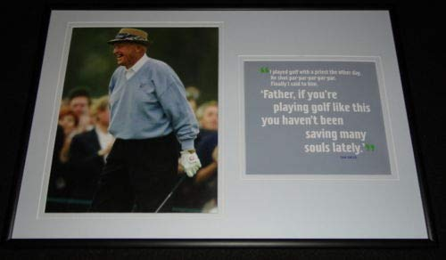 (Sam Snead Framed 12x18 Photo Display w/quote)