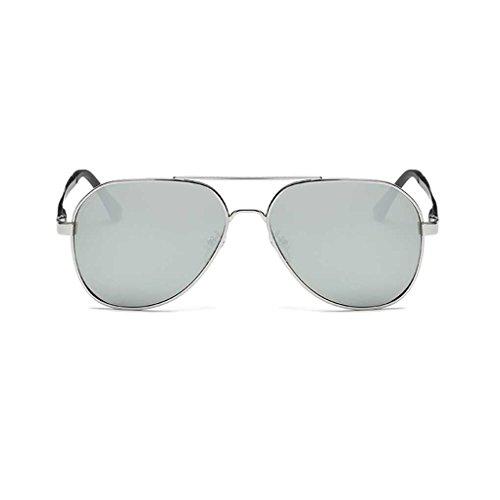 classiques Lunettes lunettes Mengonee Hommes 1 lunettes Metal de Coolsir soleil Pilot Lunettes Fashion conduite polarisantes cool Frame de qvf8gqr