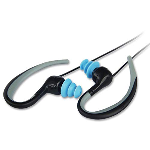 Auricular Bluetooth Deportes Natación Impermeable Gancho para la oreja Mini subacuático Doble oreja Estéreo Inalámbrico...