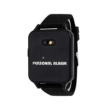 Pulsera de seguridad MOVINTO Alarma - Seguridad con sólo pulsar un botón - para niños y adultos - Sirena de 120 decibelios - Alarma de pánico en caso ...