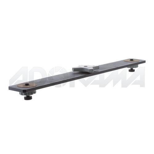 Manfrotto 828 Horizontal Bracket with 2 Connections for Super Clamp