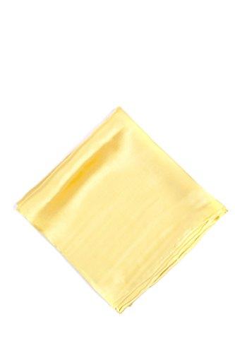 2002 Square - Sunshine Yellow Sunshine Yellow Silk Pocket Square