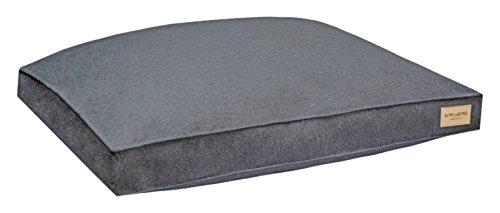 Graphite LargeBowl and Bone Republic Loft Cushion, Small, Coral