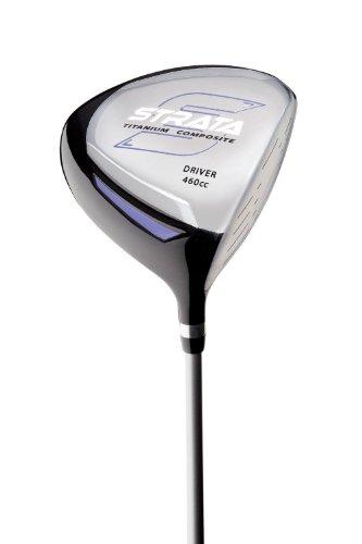 Strata Women's Complete Golf Set with Bag, 11-Piece (Left Hand, Purple, Driver, Fairway, Hybrid, Irons, Putter)