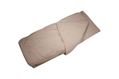 Disc-O-Bed Children's Duvalay Luxury Memory Foam Sleeping Pad & Duvet Cappuccino Pattern