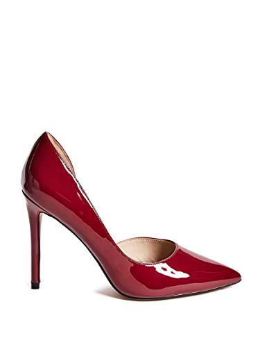 À 84G9A2 Femme 8893Z Marciano Talons by Chaussures Pump Bordeaux Guess OwEYxc