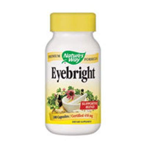 Nature's Way Herbal Eyebright, 100 Capsules (Pack of 2) by Nature's Way