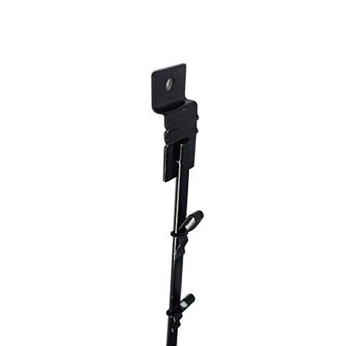 New Black 12 Clips Slatwall Mount Clipper Display Single Strip