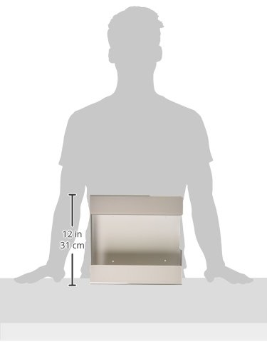 Double Box Recycled Plastic ZING 7224 Eco Glove Dispenser White 10.5Lx12Wx4H Universal Mount