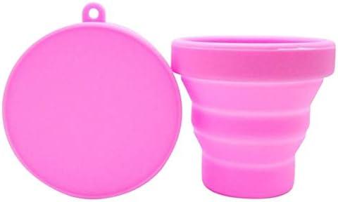 Cajas de menstruación plegables reutilizables con juego de vasos ...