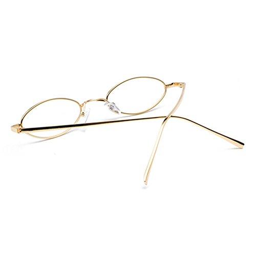 femmes de soleil petites lunettes de lunettes Mxssi soleil C3 pour Vintage hommes ovales lunettes petites q74wHv