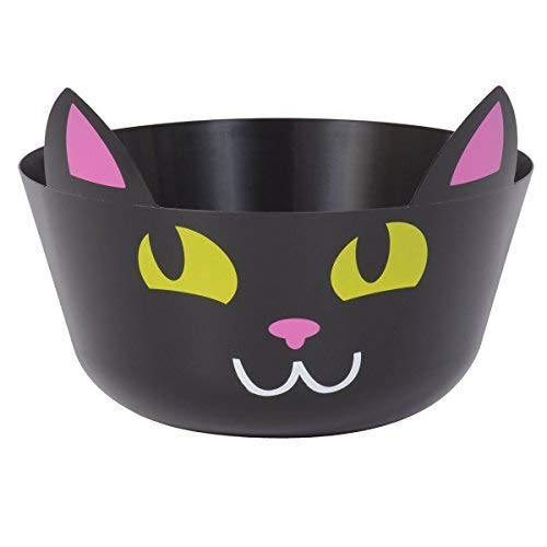 Halloween Black Cat Candy Treat Punch Bowl