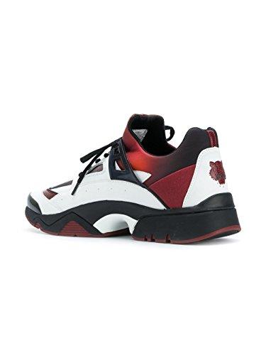 Kenzo Sneakers Uomo F765SN350F5421 Poliestere Bianco/Rosso
